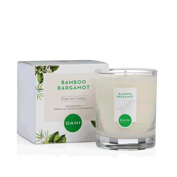BAMBOO BERGAMOT SCENTED SOY CANDLE