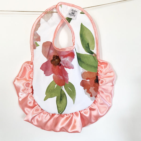 Tropical Coral Bib