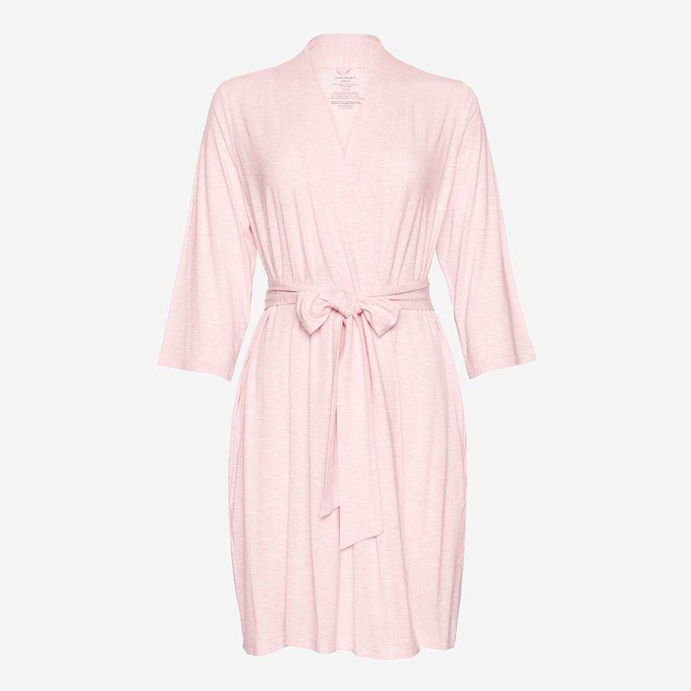 Pink Heather Mommy Robe