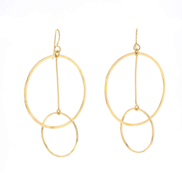 Hitch Earrings gold