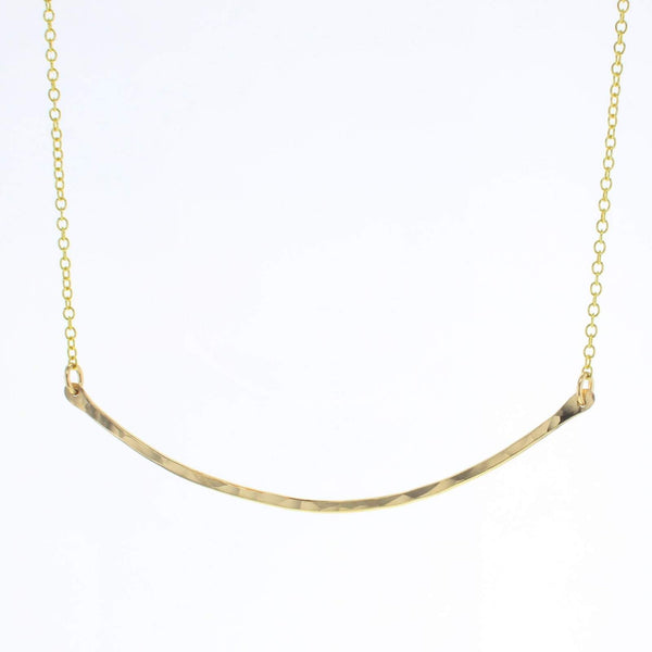 Bridge necklace gold