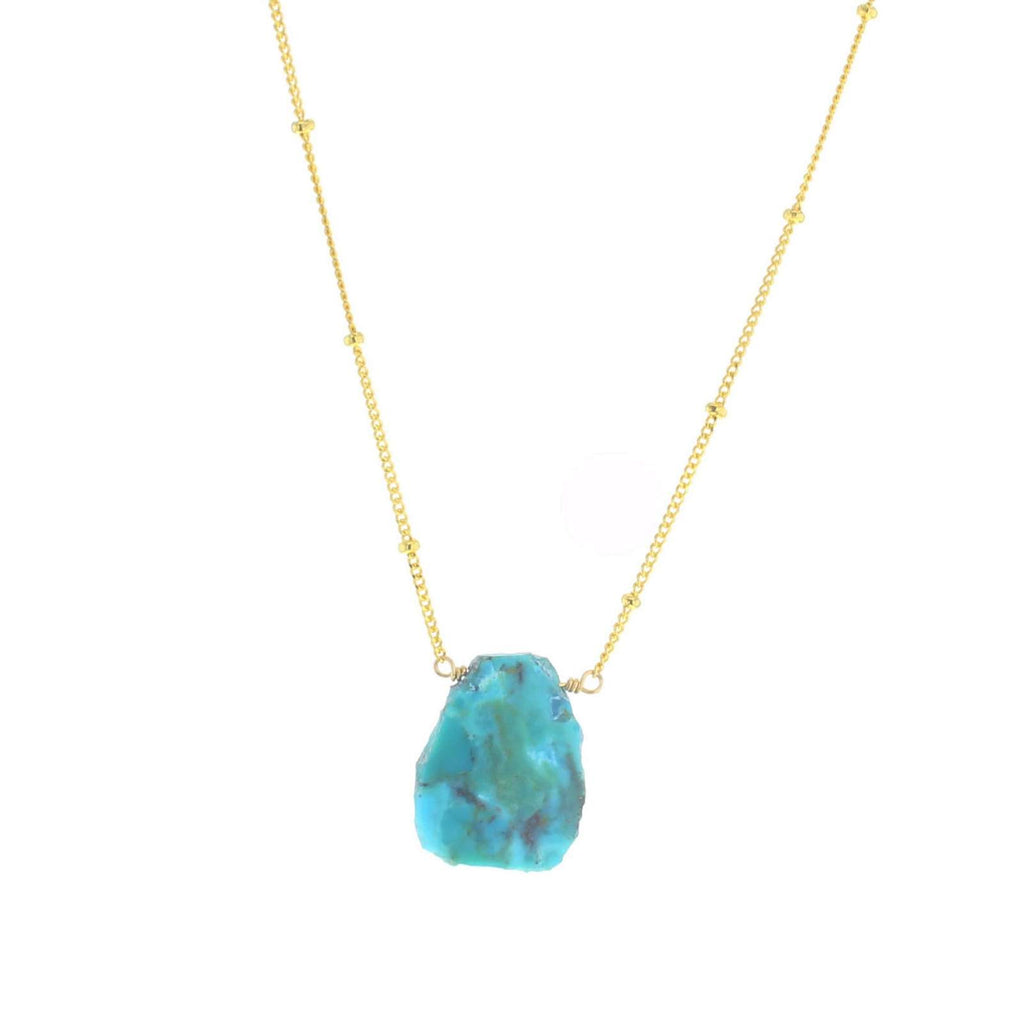 Fiji necklace gold
