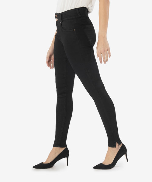 MIA HIGH RISE SLIM FIT SKINNY (BLACK)