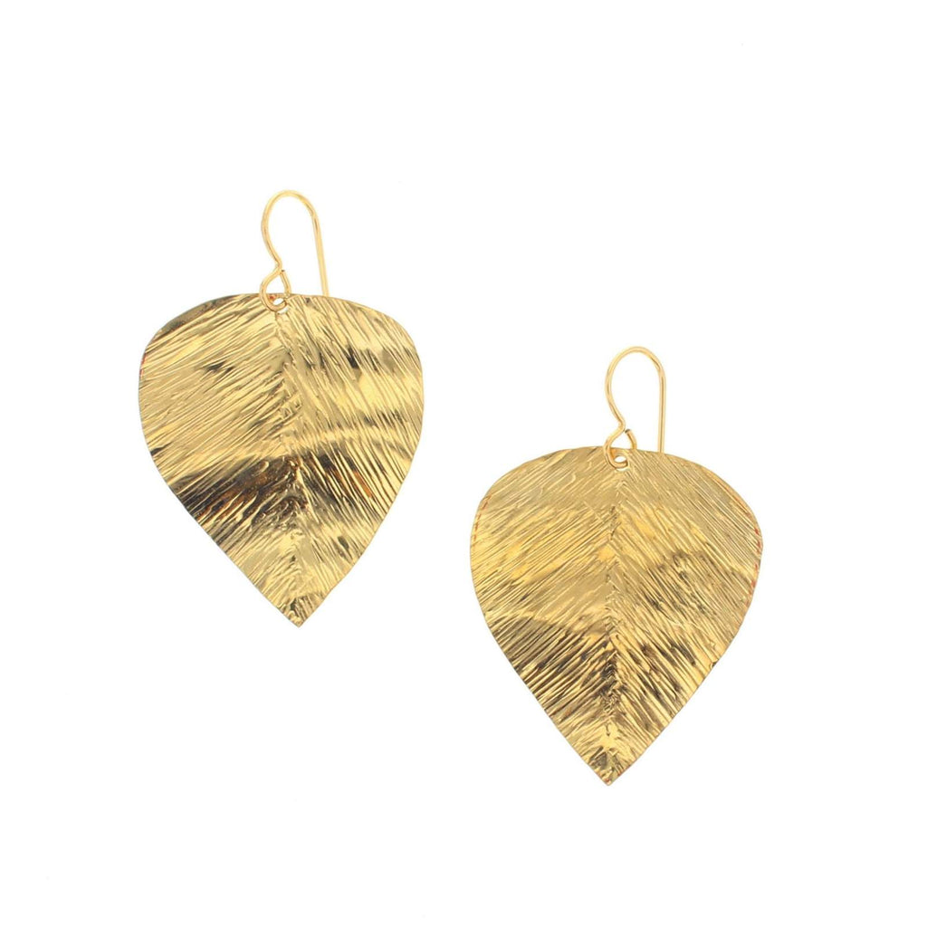 Gold Vigne earrings