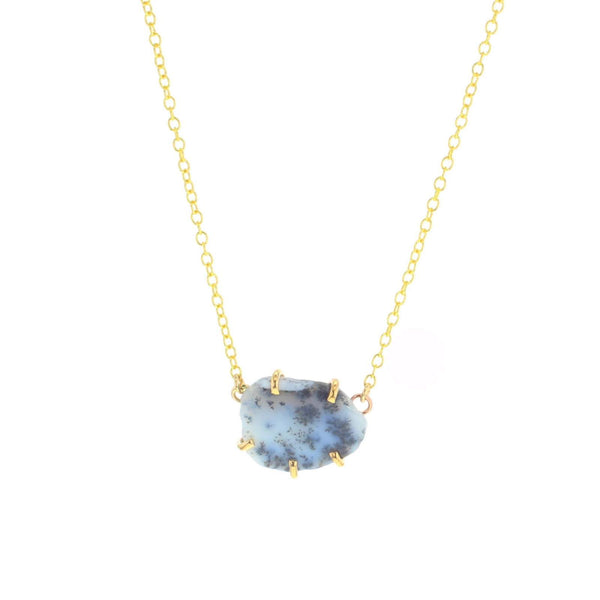 Palisade Necklace dendritic opal