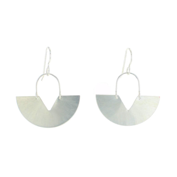 Cypress Earrings silver