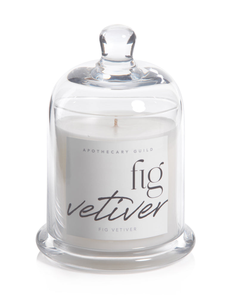 Dome Jar candle (blk fig vetiver)
