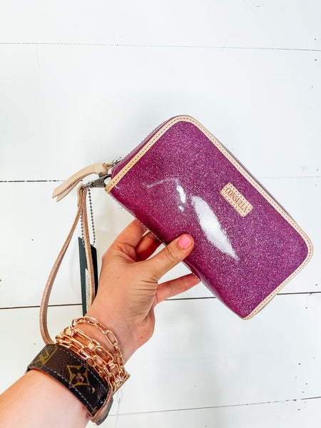 wristlet wallet berry