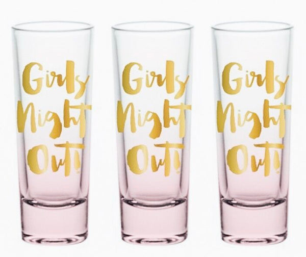 Girls Night Out Shot Glasses
