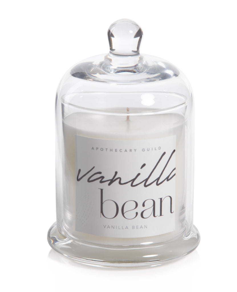 Dome Jar candle (vanilla bean)