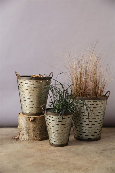 Olive Buckets w/ handles