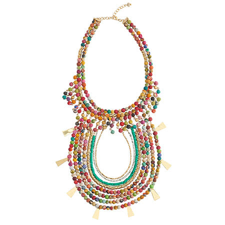 Aphrodite Kantha Necklace
