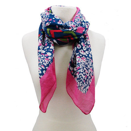 Abstract Animal Scarf