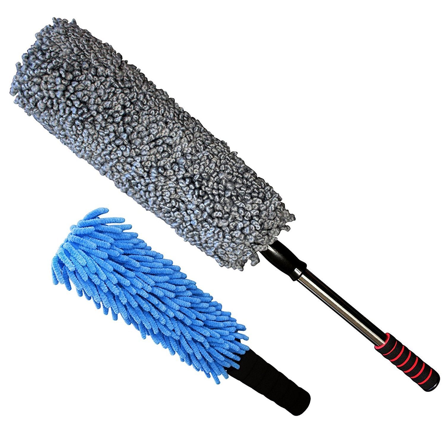 Ultra Premium 2 Piece Car Duster Set - Dash Duster & Car Duster
