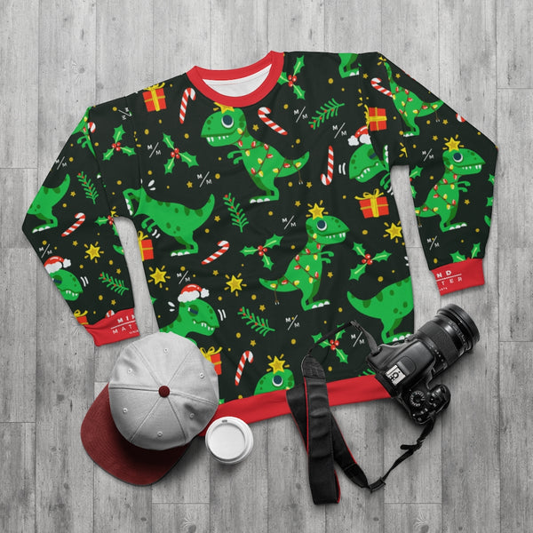 MM Dino Christmas- Unisex Sweatshirt