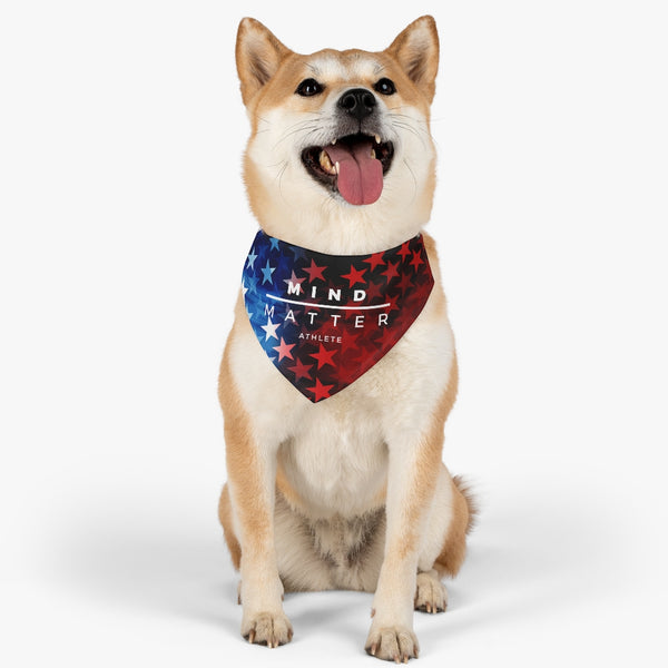Stars & Stripes MM- Pet Bandana Collar