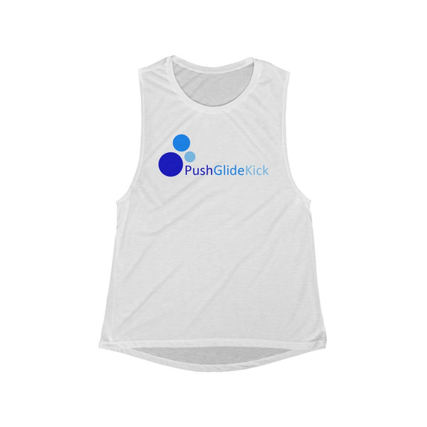 PGK- Women's Flowy Scoop Muscle Tank