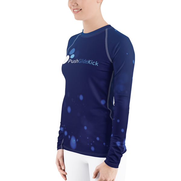 PGK Bubbles- Women's Rash Guard