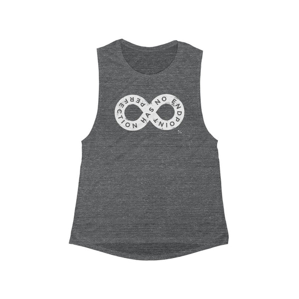 PHNE- Women's Flowy Scoop Muscle Tank