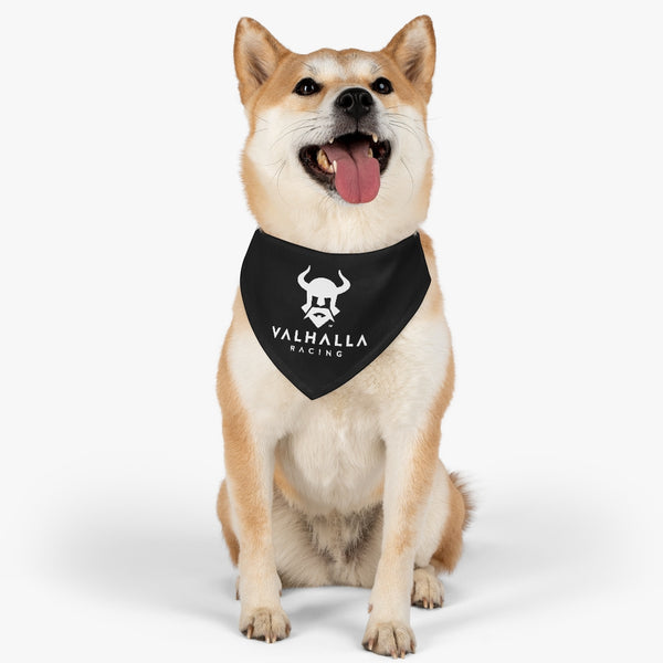 Valhalla Black- Pet Bandana Collar