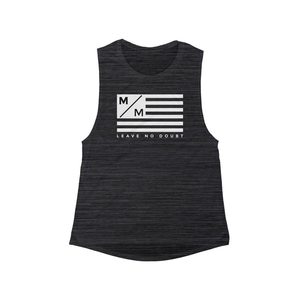 M/M Flag- Women's Flowy Scoop Muscle Tank