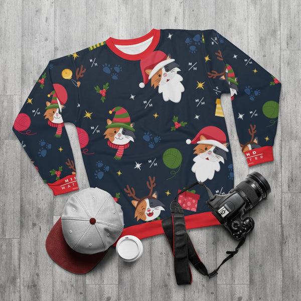 MM Cat Christmas- Unisex Sweatshirt