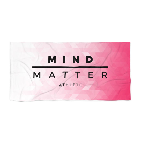 MM Athlete Pink- Beach Towel