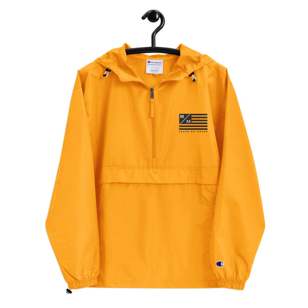 M/M Flag- Embroidered Champion Packable Jacket