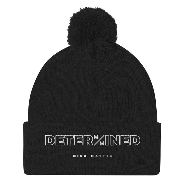Determined- Pom-Pom Beanie