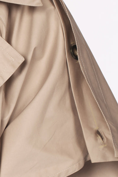 Caftan Cotton Trench Cape / Beige - YOJIRO KAKE OFFICIAL
