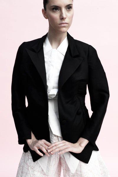 Origami Ekaterina Wool Jacket / Black