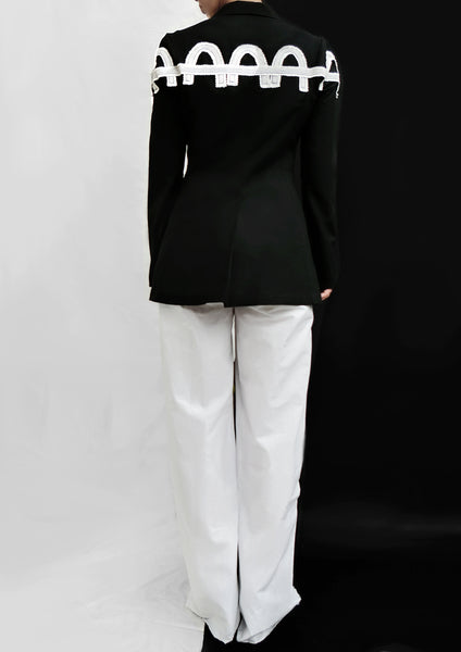 Easy Trousers / White - YOJIRO KAKE OFFICIAL