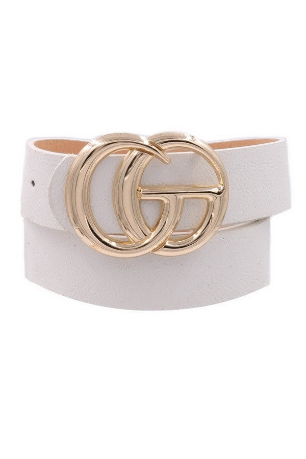 Uptown CG Belt - White