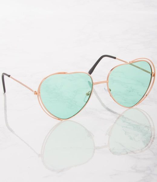Listen To Your Heart Sunglasses - Mint