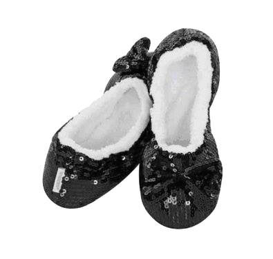 Sequin Snoozies in Black - 3 Sisters Boutique