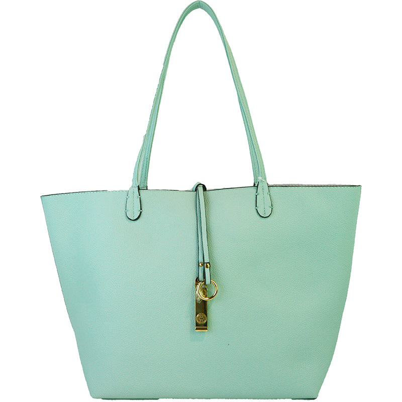 Reversible Tote - Mint - 3 Sisters Boutique