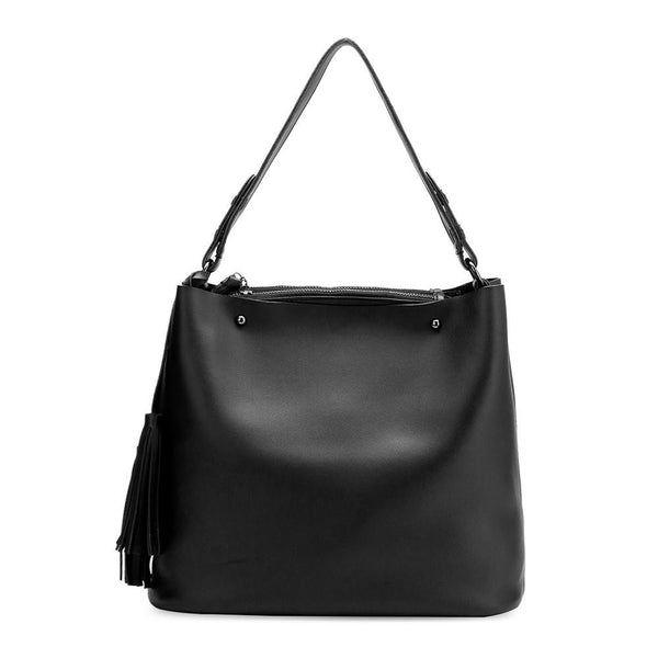 Niccola Shoulder Bag - Black - 3 Sisters Boutique