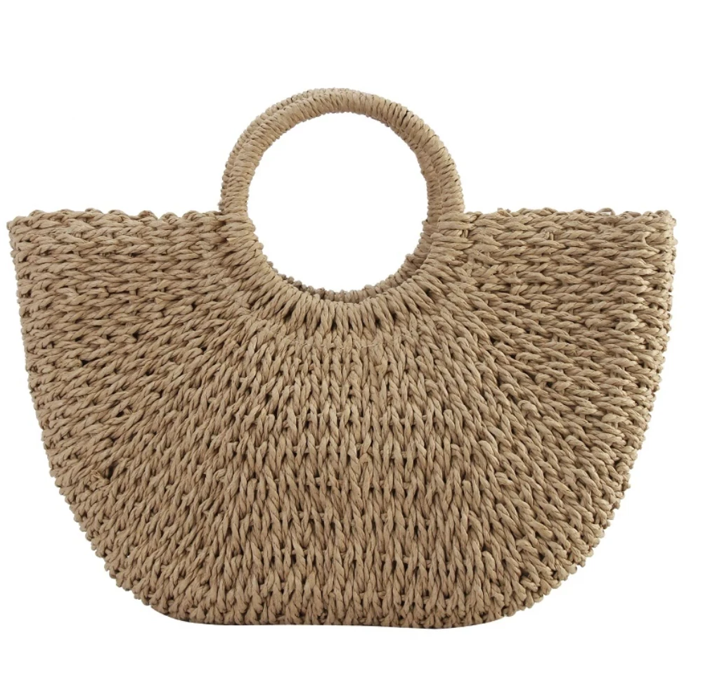 Woven Basket Purse - 3 Sisters Boutique