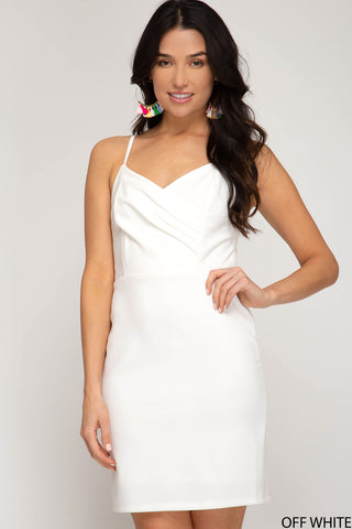 Lover Dress - White - 3 Sisters Boutique
