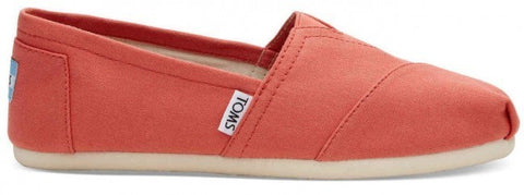 Toms Classic Coral Canvas