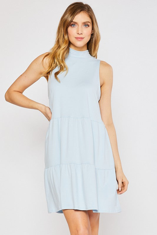 Bella Dress - Pale Blue