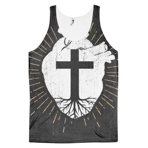 Rooted In Christ tank top