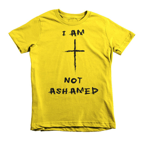 Not Ashamed kids t-shirt