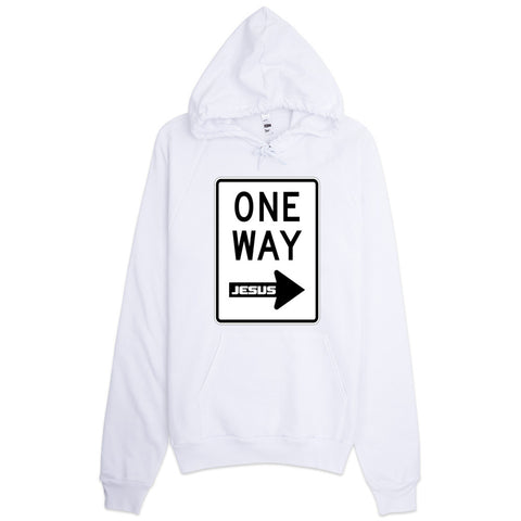 One Way Hoodie (In mulitple colors)
