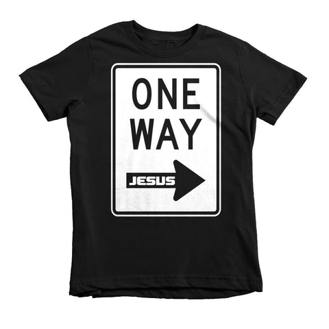 One Way kids t-shirt (In mulitple colors)