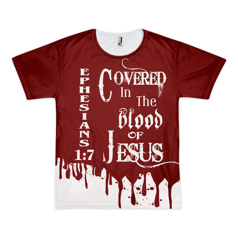 Covered In The Blood t-shirt