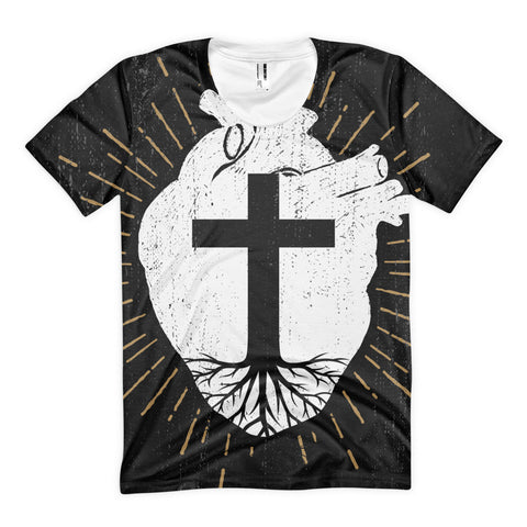 Rooted In Christ Women's t-shirt