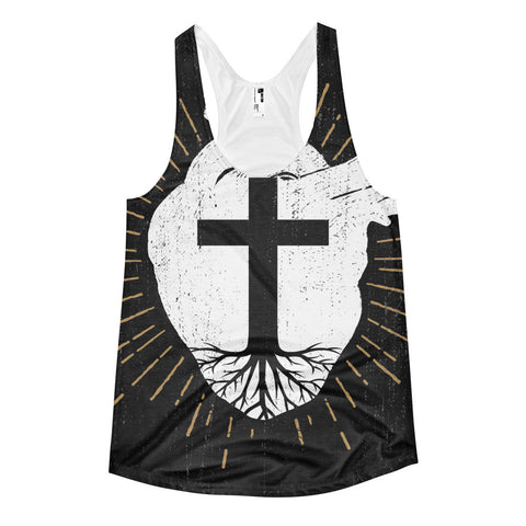 Rooted In Christ Women's tank top