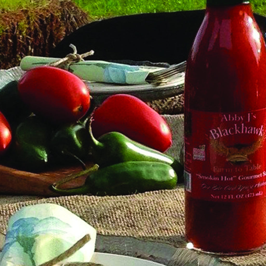 """SMOKIN' HOT"" GOURMET SAUCE- HALF CASE (6 BOTTLES)"