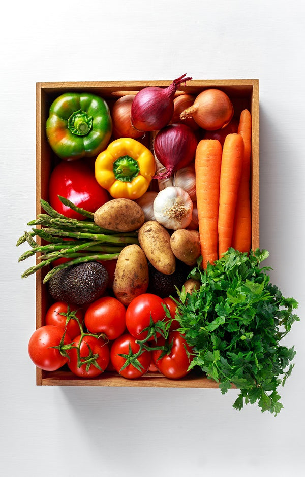 Vegetable Harvest Produce Box - Jackson Orchards